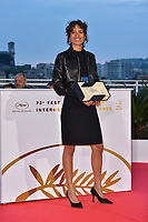 CANNES, FRANCE. May 25, 2019: Mati Diop at the Palme d'Or Awards photocall at the 72nd Festival de Cannes.<br /> Picture: Paul Smith / Featureflash