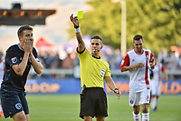 San Jose, CA - Saturday June 17, 2017: Armando Villarreal during a Major League Soccer (MLS) match between the San Jose Earthquakes and the Sporting Kansas City at Avaya Stadium.