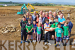 FRIENDS OF CHURCHILL: Locals in Churchill are planning a fundraiser for their new football field which is currently under construction. Pictured were: Daniel Greaney, Donnacha O'Sullivan, Jack Dolan, Anne Lawlor, Jim O'Sullivan, Ronan Kelly, Tracy O'Sullivan (Secretary), Tim Lawlor, Padraig Ryan (PRO), Eugene O'Sullivan, Meah Carmody, Ger Carmody, Ava Mai Carmody, JP Daly, Mikey Moriarty, Peter O'Brien, Regina Dolan, Micháel Dolan, Ronan O'Brien, Cathal Sheehan, Phil Foley, James Foley, Ben Donnellan and Cian Donnellan.