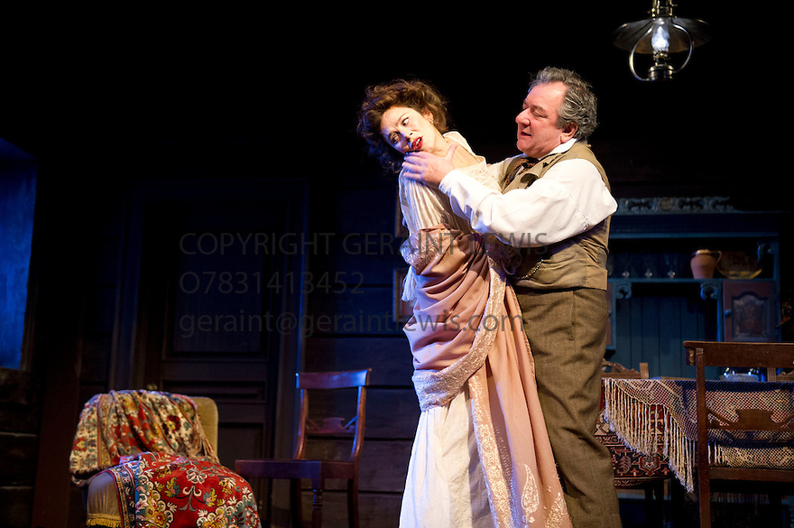 Uncle Vanya by Anton Chekov, translated by Christopher Hampton, directed by Lindsay Posner. With Ken Stott as Vanya, Anna Friel as Yelena. Opens at The Vaudeville Theatre on 2/11/12. CREDIT Geraint Lewis