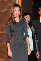 Princess Letizia of Spain attends 'Premios Magisterio 2012' at Caixa Forum in Madrid, Spain. November 29, 2012. (ALTERPHOTOS/Caro Marin) /NortePhoto