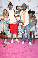 PHILADELPHIA, PA - AUGUST 4 :  Allen Iverson pictured with his family at the Allen Iverson Celebrity UnGala 2016 held at the Sheraton Philadelphia Society Hill Hotel in Philadelphia, Pa on August 4, 2016 photo credit Star Shooter/MediaPunch
