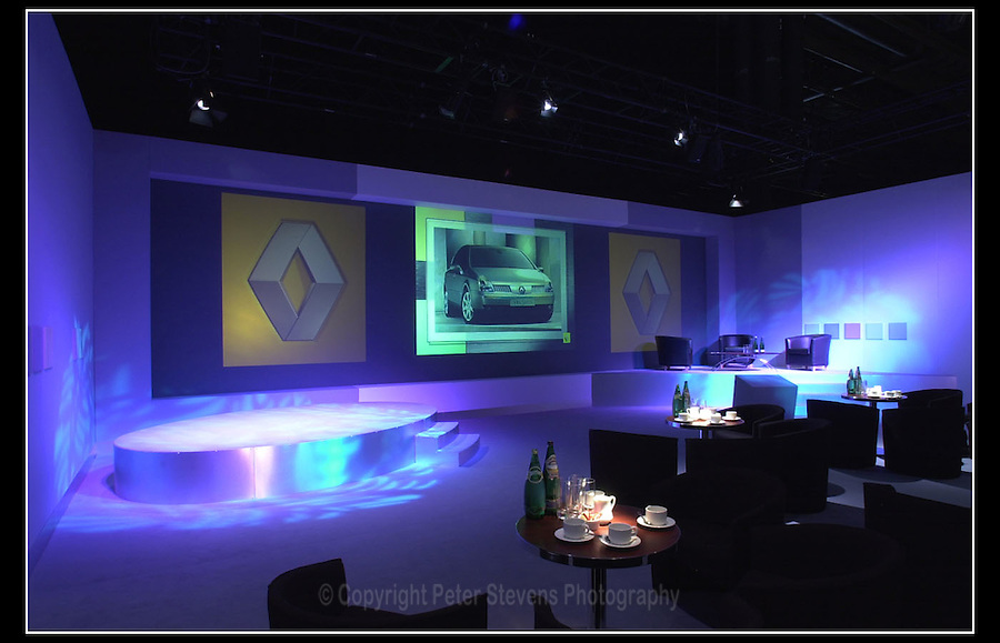 Renault Car Launch - Birmingham - 28th June 2001