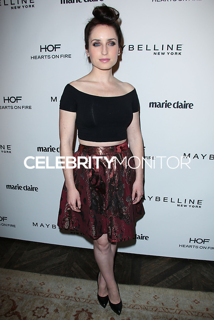 WEST HOLLYWOOD, CA, USA - APRIL 08: Zoe Lister-Jones at the Marie Claire Fresh Faces Party Celebrating May Cover Stars held at Soho House on April 8, 2014 in West Hollywood, California, United States. (Photo by Celebrity Monitor)