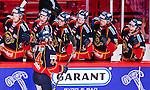 Stockholm 2014-09-17 Ishockey SHL Djurg&aring;rdens IF - Leksands IF :  <br /> Djurg&aring;rdens Mattias Guter har gjort 3-0 och gratuleras av lagkamrater<br /> (Foto: Kenta J&ouml;nsson) Nyckelord:  Djurg&aring;rden DIF Hockey Globen Ericsson Globe Arena SHL Leksand LIF jubel gl&auml;dje lycka glad happy