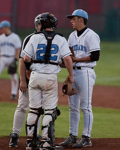 Saint Joseph's High School Varsity Baseball 2009.St. Joe vs. New Prairie