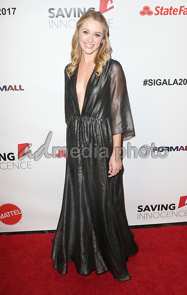 30 September 2017 - Los Angeles, California - Greer Grammer. 6th Annual Saving Innocence Gala held at Loews Hollywood Hotel. Photo Credit: F. Sadou/AdMedia