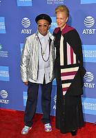 PALM SPRINGS, CA. January 03, 2019: Spike Lee &amp; Tonya Lewis Lee at the 2019 Palm Springs International Film Festival Awards.<br /> Picture: Paul Smith/Featureflash