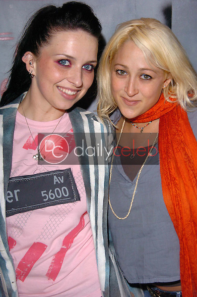 "ErikaRae and Jennifer Blanc<br /> at ""Elmer Ave. vs. the World"" presented by Flaunt Magazine, Quixote Studios, Hollywood, CA 05-13-05<br /> <br /> Chris Wolf/DailyCeleb.com 818-249-4998"