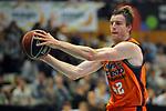 League ACB-ENDESA 2017/2018. Game: 30.<br /> Divina Seguros Joventut vs Valencia Baket Club: 77-75.<br /> Aaron Doomekamp.