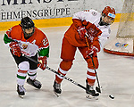 03.01.2020, BLZ Arena, Füssen / Fuessen, GER, IIHF Ice Hockey U18 Women's World Championship DIV I Group A, <br /> Daenemark (DEN) vs Ungarn (HUN), <br /> im Bild Imola Horvath (HUN, #22), Reka Papacsek (HUN, #6)<br /> <br /> Foto © nordphoto / Hafner