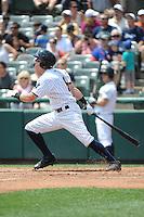 Trenton Thunder outfielder Ben Gamel (8) during game against the Binghamton Mets at ARM & HAMMER Park on July 27, 2014 in Trenton, NJ.  Trenton defeated Binghamton 7-3.  (Tomasso DeRosa/Four Seam Images)