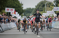 Jolien d'Hoore (BEL/Wiggle-High5) wins her 2nd national elite title<br /> <br /> 2017 National Championships Belgium WE - Elite Women - Road Race (NC)<br /> 1 Day Race: Antwerpen &gt; Antwerpen (102km)