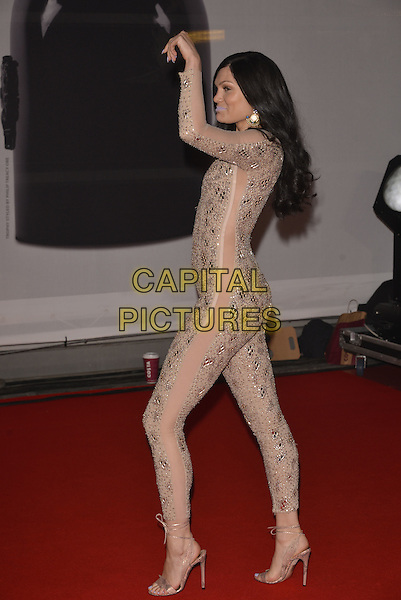 LONDON, ENGLAND - FEBRUARY 19: Jessie J ( Jessica Ellen Cornish ) attends The BRIT Awards 2014 at 02 Arena on February 19, 2014 in London, England.<br /> CAP/PL<br /> &copy;Phil Loftus/Capital Pictures