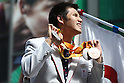 Keiichi Kimura (JPN),<br /> OCTOBER 7, 2016 :<br /> Japanese medalists of Rio 2016 Olympic and Paralympic Games wave to spectators during a parade from Ginza to Nihonbashi, Tokyo, Japan.<br /> (Photo by Shingo Ito/AFLO)
