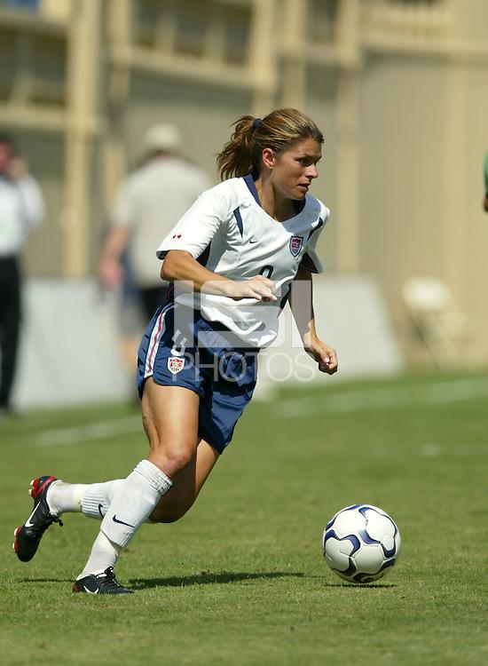 Mia Hamm, USWNT vs. Mexico, September 7, 2003.