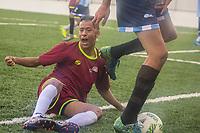SÃO PAULO,SP, 20.03.2017 - PARAPAN-JUVENTUDE - Futebol de 7 - Argentina (5) e Venezuela (01) durante jogo no CT Paralímpico Brasileiro, no Parapan da Juventude em São Paulo nesta segunda-feira, 20. (Foto: Danilo Fernandes/Brazil Photo Press)