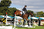 Stamford, Lincolnshire, United Kingdom, 8th September 2019, Sarah Bullimore (GB) & Reve Du Rouet during the Show Jumping Phase on Day 4 of the 2019 Land Rover Burghley Horse Trials, Credit: Jonathan Clarke/JPC Images