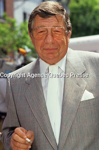 Montreal (Qc) CANADA - File Photo - circa 1983 -<br /> Claude Blanchard