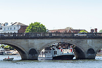 Henley on Thames. United Kingdom.   view of the paddle boat  &quot;New Orleans&quot;. moves, slowly under Henley Road Bridge Thursday  17/05/2018<br /> <br /> [Mandatory Credit: Peter SPURRIER:Intersport Images]<br /> <br /> LEICA CAMERA AG  LEICA Q (Typ 116)  f5  1/1000sec  35mm  42.5MB