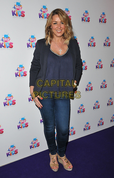Claire Sweeney at the Sky Kids Cafe VIP launch party, The Vinyl Factory, Marshall Street, London, England, UK, on Sunday 29 May 2016.<br /> CAP/CAN<br /> &copy;CAN/Capital Pictures