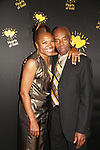 Deborah Koenigsberger - Founder & CEO of Hearts of Gold poses with her dad at the annual All That Glitters Gala - 24 years of support to New York City's homeless mothers and their cildren - (VIP Reception - Silent Auction) was held on November 7, 2018 at Noir et Blanc and the 40/40 Club in New York City, New York.  (Photo by Sue Coflin/Max Photo)