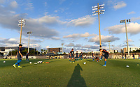 Miami, FL - Tuesday, October 15, 2019:  USMNT U-23 during a friendly match between the USMNT U-23 and El Salvador at FIU Soccer Stadium.