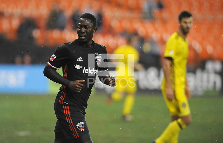 Washington, D.C. - March 18, 2017: The Columbus Crew SC defeated D.C. United 2-0 during their Major League Soccer (MLS) match at RFK Stadium.