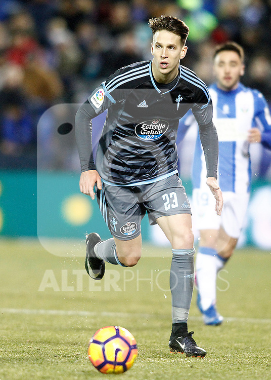 Celta de Vigo's Josep Sene during La Liga match. January 28,2017. (ALTERPHOTOS/Acero)