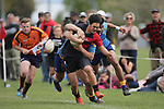 NELSON, NEW ZEALAND - OCTOBER 6: U16 South Island Rugby Tournament on October 6 2018 in Nelson, New Zealand. (Photo by: Evan Barnes Shuttersport Limited)