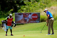 Jason Knudson (USA) in action during the third round of the Afrasia Bank Mauritius Open played at Heritage Golf Club, Domaine Bel Ombre, Mauritius. 02/12/2017.<br /> Picture: Golffile | Phil Inglis<br /> <br /> <br /> All photo usage must carry mandatory copyright credit (&copy; Golffile | Phil Inglis)