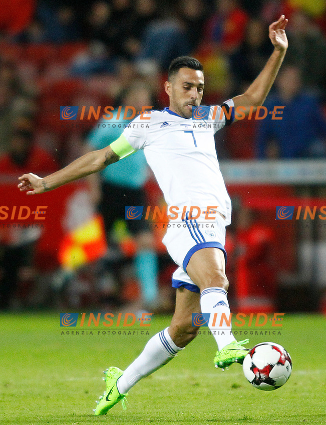Israel's Eran Zahavi during FIFA World Cup 2018 Qualifying Round match. <br /> Gijon 24-03-2017 Stadio El Molinon <br /> Qualificazioni Mondiali <br /> Spagna - Israele <br /> Foto Acero/Alterphotos/Insidefoto <br /> ITALY ONLY