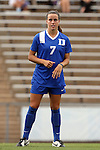 21 August 2015: Duke's Taylor Racioppi. The Duke University Blue Devils played the Fresno State Bulldogs at Fetzer Field in Chapel Hill, NC in a 2015 NCAA Division I Women's Soccer game. Duke won the game 5-0.