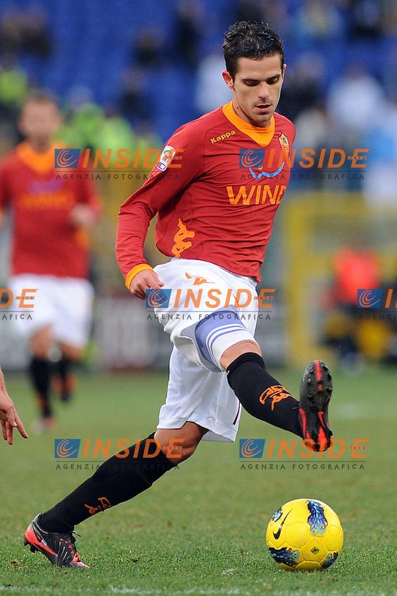 "fernando gago (roma)..Roma 08/01/2012 Stadio ""Olimpico""..Football Calcio 2011/2012 Serie A..Roma Vs Chievo 2-0..Foto Insidefoto Massimo Oliva"