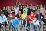 21ST BIRTHDAY BASH: Owen Kane, Shanakill (seated centre), got together with family and friends to celebrate his 21st birthday at Brenners nightclub on Friday night.   Copyright Kerry's Eye 2008