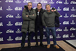 Hombres G music band poses during Cadena Dial music awards presentation in Madrid, Spain. February 05, 2015. (ALTERPHOTOS/Victor Blanco)