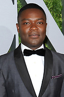 www.acepixs.com<br /> June 11, 2017  New York City<br /> <br /> David Oyelowo attending the 71st Annual Tony Awards arrivals on June 11, 2017 in New York City.<br /> <br /> Credit: Kristin Callahan/ACE Pictures<br /> <br /> <br /> Tel: 646 769 0430<br /> Email: info@acepixs.com