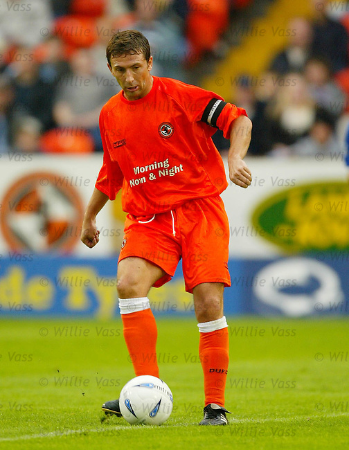 Derek McInnes, Dundee Utd.Stock season 2003-2004..pic willie vass