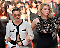 Kristen Stewart &amp; Lea Seydoux at the gala screening for &quot;Girls of the Sun&quot; at the 71st Festival de Cannes, Cannes, France 12 May 2018<br /> Picture: Paul Smith/Featureflash/SilverHub 0208 004 5359 sales@silverhubmedia.com