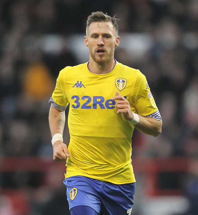 Leeds United's Barry Douglas<br /> <br /> Photographer Mick Walker/CameraSport<br /> <br /> The EFL Sky Bet Championship - Nottingham Forest v Leeds United - Tuesday 1st January 2019 - The City Ground - Nottingham<br /> <br /> World Copyright © 2019 CameraSport. All rights reserved. 43 Linden Ave. Countesthorpe. Leicester. England. LE8 5PG - Tel: +44 (0) 116 277 4147 - admin@camerasport.com - www.camerasport.com