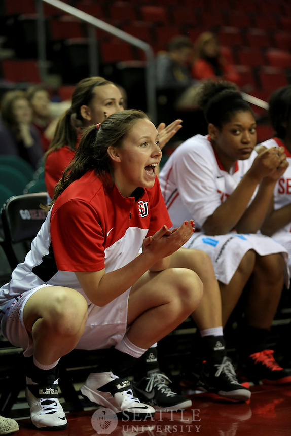 12042013- Seattle University Women basketball vs. Oregon University @ Key Arena