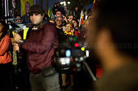 """Luciana Romoli (Antifascist Partizan. Member of the Partigiani: the Italian Resistance during WWII).<br /> <br /> Rome, 01/11/2019. Today, to mark the 5th World Kobane Day (1.), tens of thousands of people marched from Piazza della Repubblica to Via dei Fori Imperiali. The aim of the demo was to protest against the ongoing Turkish unilateral military intervention in North-East Syria, and in support & solidarity with the Kurdish People of Rojava (275,000+ already displaced).<br /> UIKI, Comunità Curda in Italia, Rete Kurdistan urging to (2.):<br /> -Stop the war & withdrawl of Turkish Troops from North-East of Syria<br /> -Establish a NO-Fly-Zone under the aegis of UN & International Community with deployement of an interposition force<br /> -Stop military & diplomatic cooperation of Italy & the EU with Turkey<br /> -Create a humanitarian corridor to evacuate wounded people<br /> -Release Ocalan & all the political prisoners held in Turkish prisons<br /> """"Turkey will soon be moving forward with its long-planned operation into Northern Syria [Operation Peace Spring]. The US Armed Forces will not support or be involved in the operation, and US forces, having defeated the ISIS territorial 'Caliphate', will no longer be in the immediate area"""" - White House's statement, 07.10.19. With this move President Trump has allegedly abandoned his Kurdish allies (Syrian Democratic Forces, SDF are Kurdish-led Forces) of the war against IS (aka ISIS, Daesh, Islamic State) and, with his support to the Turkish invasion of North-East Syria, he could widen the eight-year Syrian conflict. Conversely, Turkish President, Recep Tayyip Erdogan, said the operation has the aim to create a """"safe zone"""" cleared of Kurdish militias which will also house Syrian refugees. The EU, numerous Nations across the planet, the UN have expressed concern and condemned this unilateral decision, urging Turkey to end its offensive.<br /> Footnotes & Links:<br /> 1. http://bit.do/ffK7V (London)<br /> 2. http://bit"""