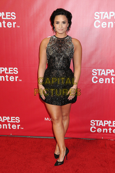 13 February 2016 - Los Angeles, California - Demi Lovato. 2016 MusiCares Person Of The Year Honoring Lionel Richie held at The Los Angeles Convention Center.  <br /> CAP/ADM/BP<br /> &copy;BP/ADM/Capital Pictures