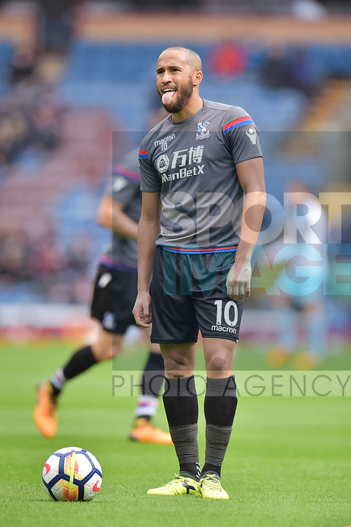 Crystal Palace's Andros Townsend before the premier league match at the Turf Moor Stadium, Burnley. Picture date 10th September 2017. Picture credit should read: Paul Burrows/Sportimage