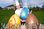 Chocolatier Benoit Lorge has created some of Kerry's largest Easter Eggs at his chocolate shop in Bonane, Kenmare. Reaching up to 70cm in height and using 8kg of chocolate in each of the eggs these creations make Easter extra special. .