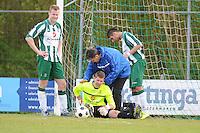 VOETBAL: JOURE: 30-04-2016, SC Joure - SV Mulier, uitslag 2-1, SC Joure keeper Lars Wijnalda, ©foto Martin de Jong