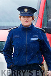 Garda Mary O'Shea at Kenmare Court on Friday.