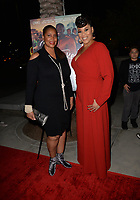 LOS ANGELES, CA- FEB. 08: Kim Olgetree, Tracy Twinkie Byrd at the 2018 Pan African Film & Arts Festival at the Cinemark Baldwin Hills 15 in Los Angeles, California on Feburary 8, 2018 Credit: Koi Sojer/ Snap'N U Photos / Media Punch