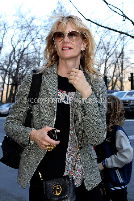 WWW.ACEPIXS.COM......April 5 2013, New York City....Actress Laura Dern leaves a Midtown Manhattan hotel on April 5 2013 in New York City......By Line: Nancy Rivera/ACE Pictures......ACE Pictures, Inc...tel: 646 769 0430..Email: info@acepixs.com..www.acepixs.com