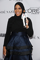BROOKLYN, NY - NOVEMBER 13: Ibtihaj Muhammad  at Glamour's 2017 Women Of The Year Awards at the Kings Theater in Brooklyn, New York City on November 13, 2017. Credit: John Palmer/MediaPunch
